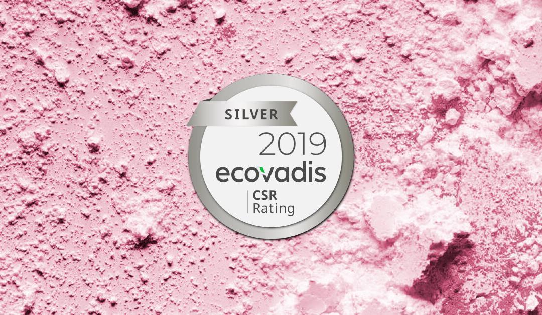 Voyant Beauty Ecovadis Award