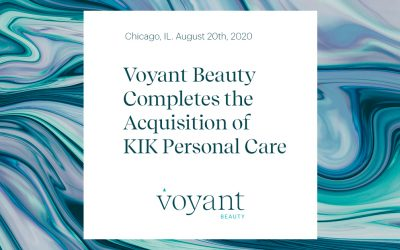 Voyant Beauty Completes the Acquisition of KIK Personal Care